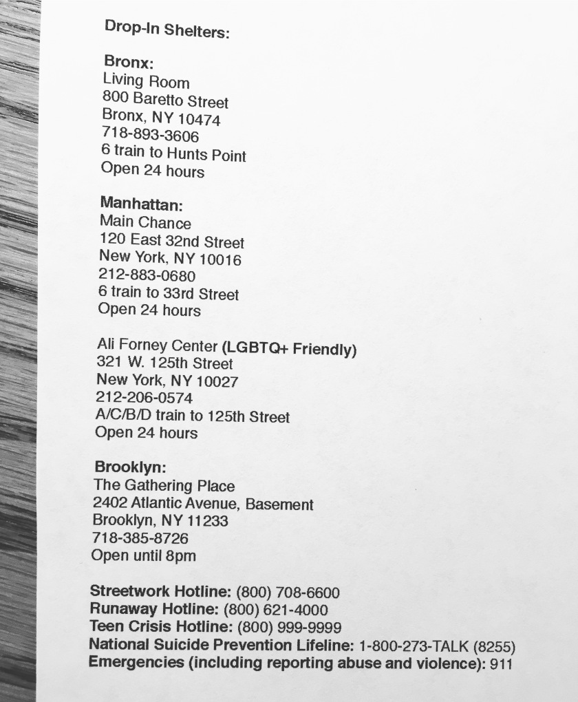 New Yorkers Here Are Some Shelters In Various Boroughs Of The City Along With Hotlines And Phone Numbers If You Need Support